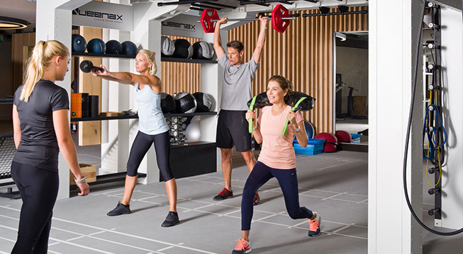 Functional Workout bei ELEMENTS